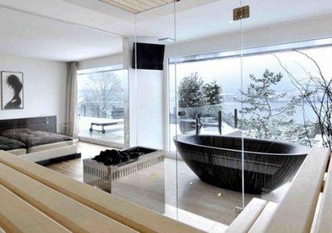 Cuartos de baño con vistas a la naturaleza   Baños ...