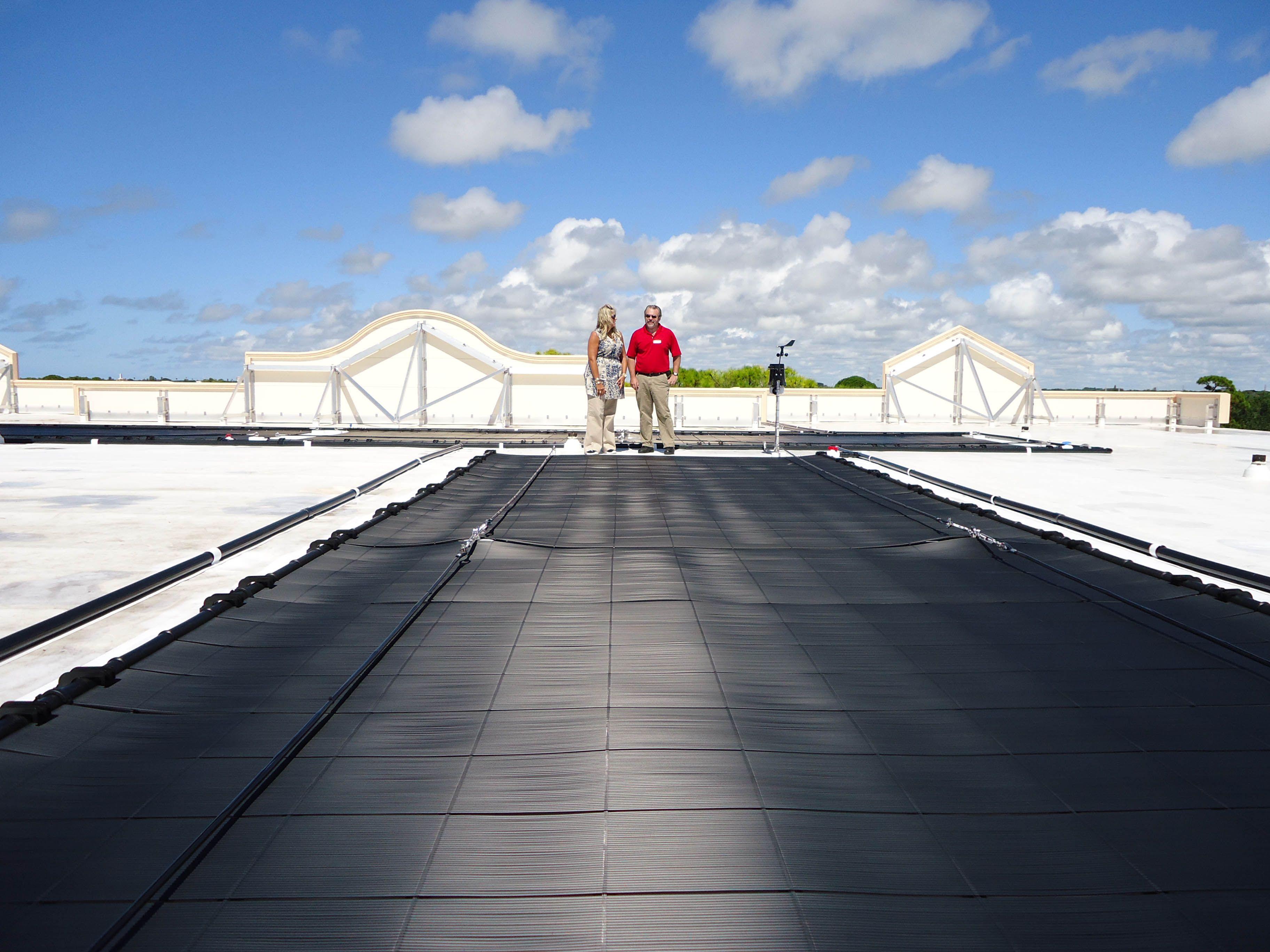 Reflective Tpo Membrane Roof Pics Tpo Roofing Roof