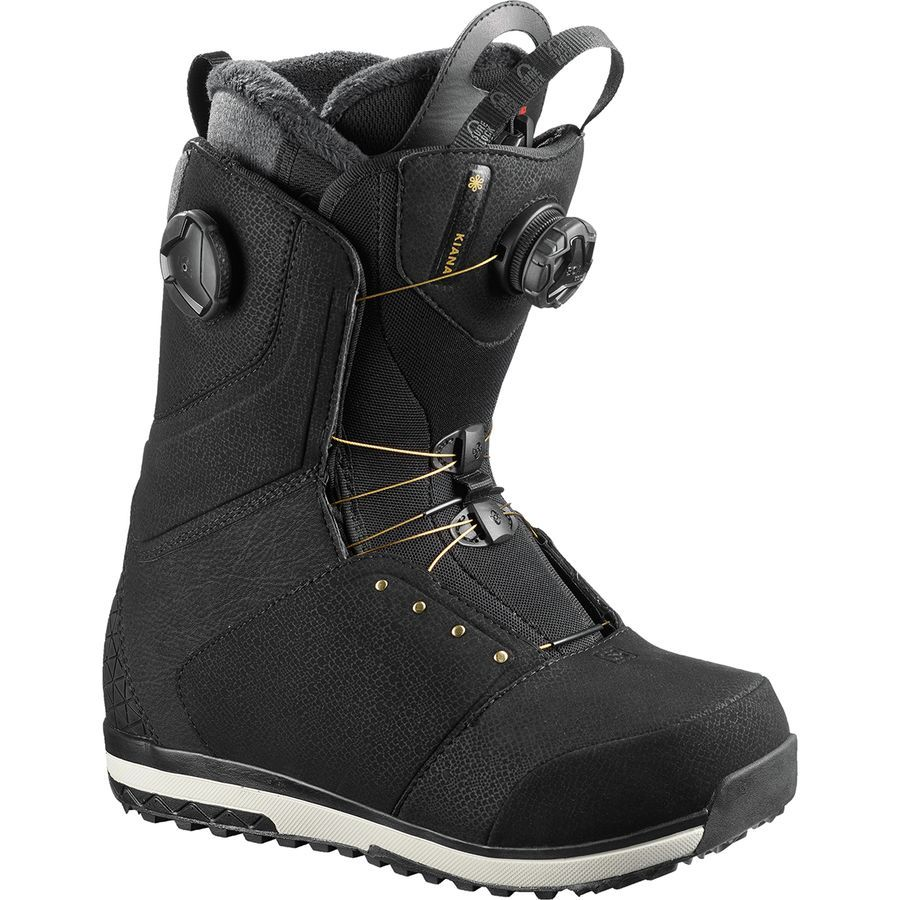 Salomon Snowboards Kiana Focus Boa Snowboard Boot Women S Snowboard Boots Boots Womens Boots