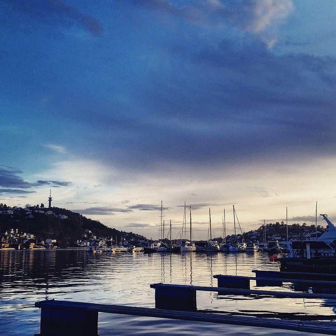 Harbor  #harbor #boat #sailboat #evening #skies #heaven #clouds #sea #feeling #sailaway #nature #arendal #arendalgjestehavn #mittsørland #visitsorlandet #visitnorway #agderposten #nrksorlandet by monicha77