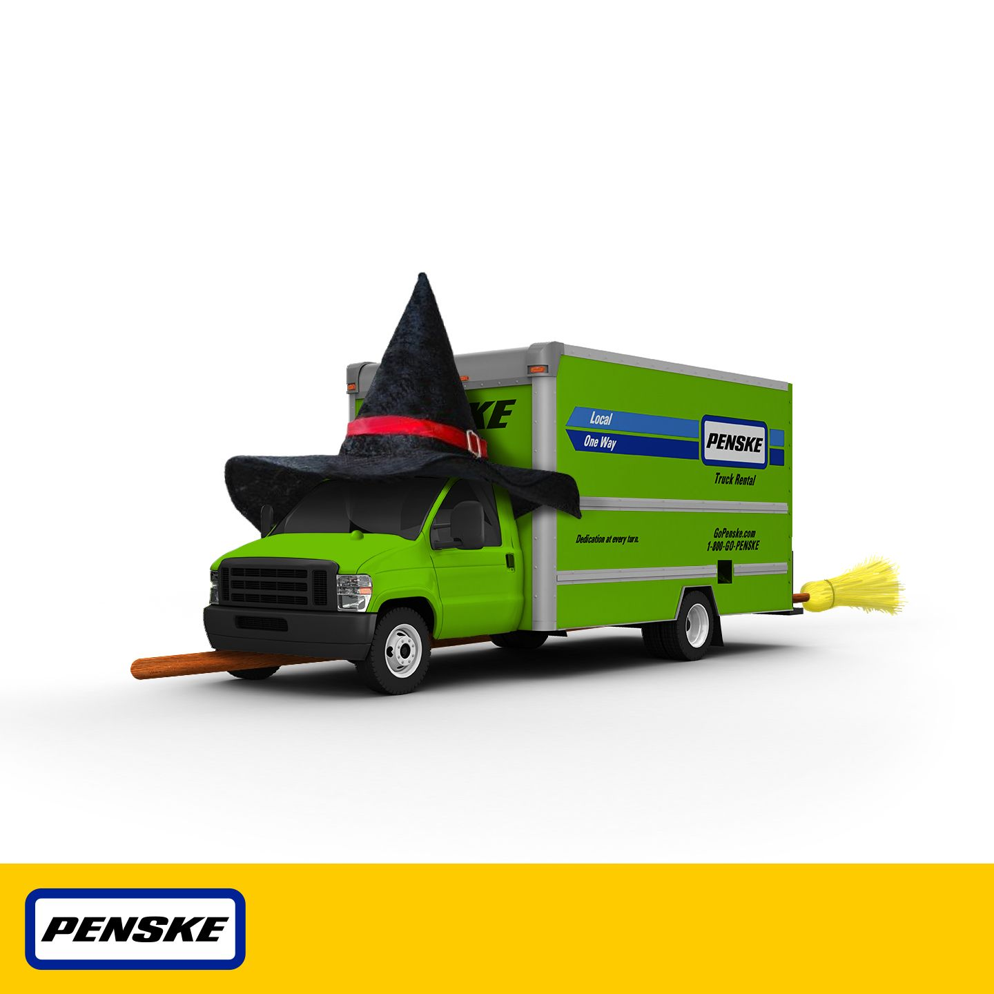 Not Sure Witch Truck To Rent Well If It S Halloween This Penske