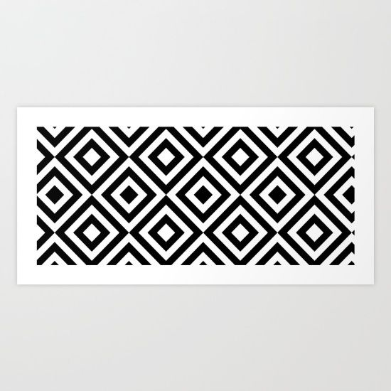 Buy it online. Abstract, geometric design. Blanco y negro. Black & white. Noir et blanche. Buy art. Acheter art. Kaufen kunst. Society6 online store.