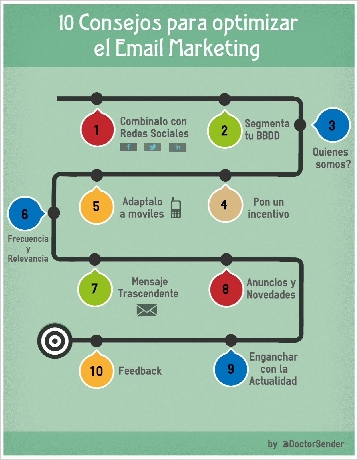 10 consejos para optimizar tu Email Marketing | #infografias #marketing #empresas #emprendedores #pymes #email