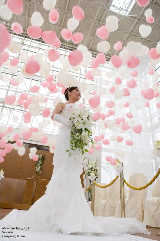 A Balloon Drop Is A Stunning And Elegant Way To Celebrate The Big