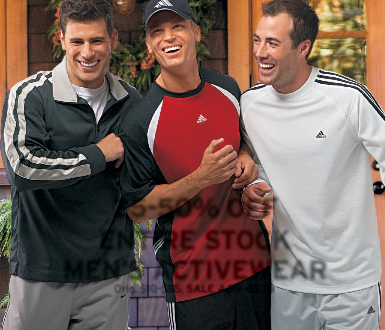 Lee Pappas for Mervyn's (2006) #LeePappas #malemodel #model #StarsModels #StarsModelMgmt #Mervyns #smile #buddies