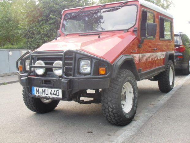 Portuguese Slantnose 1990 Umm Alter Ii 4x4 Auto Carros