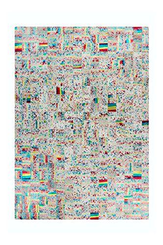 Teppich Wohnzimmer Carpet Abstrakt Design Rocket 310 RUG Muster - wohnzimmer bilder abstrakt