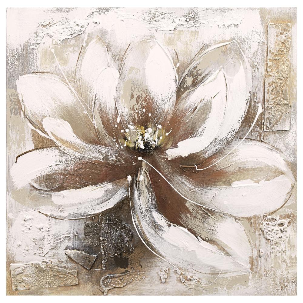 Canvas Flower Oil Painting/CANVAS ART/WALL DECOR