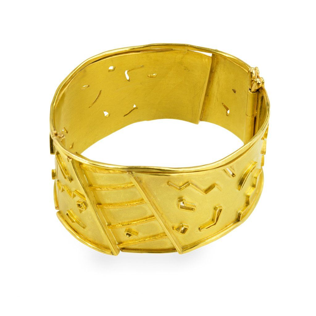 Ladders anaglyphs bracelets gold and collection
