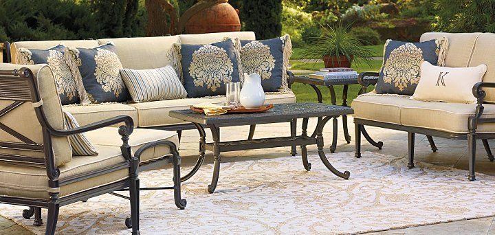 Carlisle Slate finish frontgate.com | Outdoor furniture ... on Fine Living Patio Set id=71521