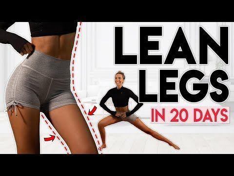 Pochylić nogi w 20 dni (stracić tłuszcz z nogi i uda)   10 min Trening domowy - YouTube