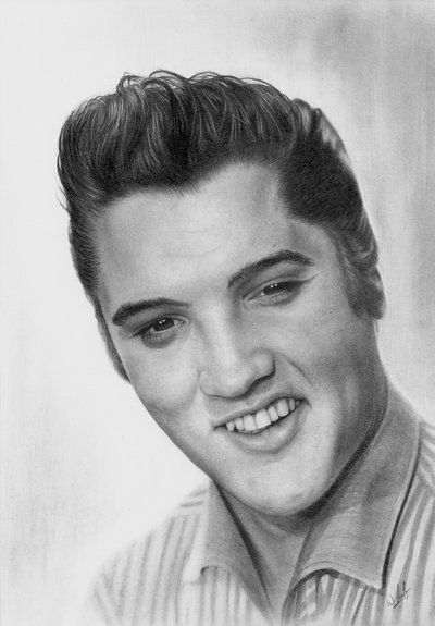 Elvis Presley By Williamleafe On DeviantART Traditional Pencil Art