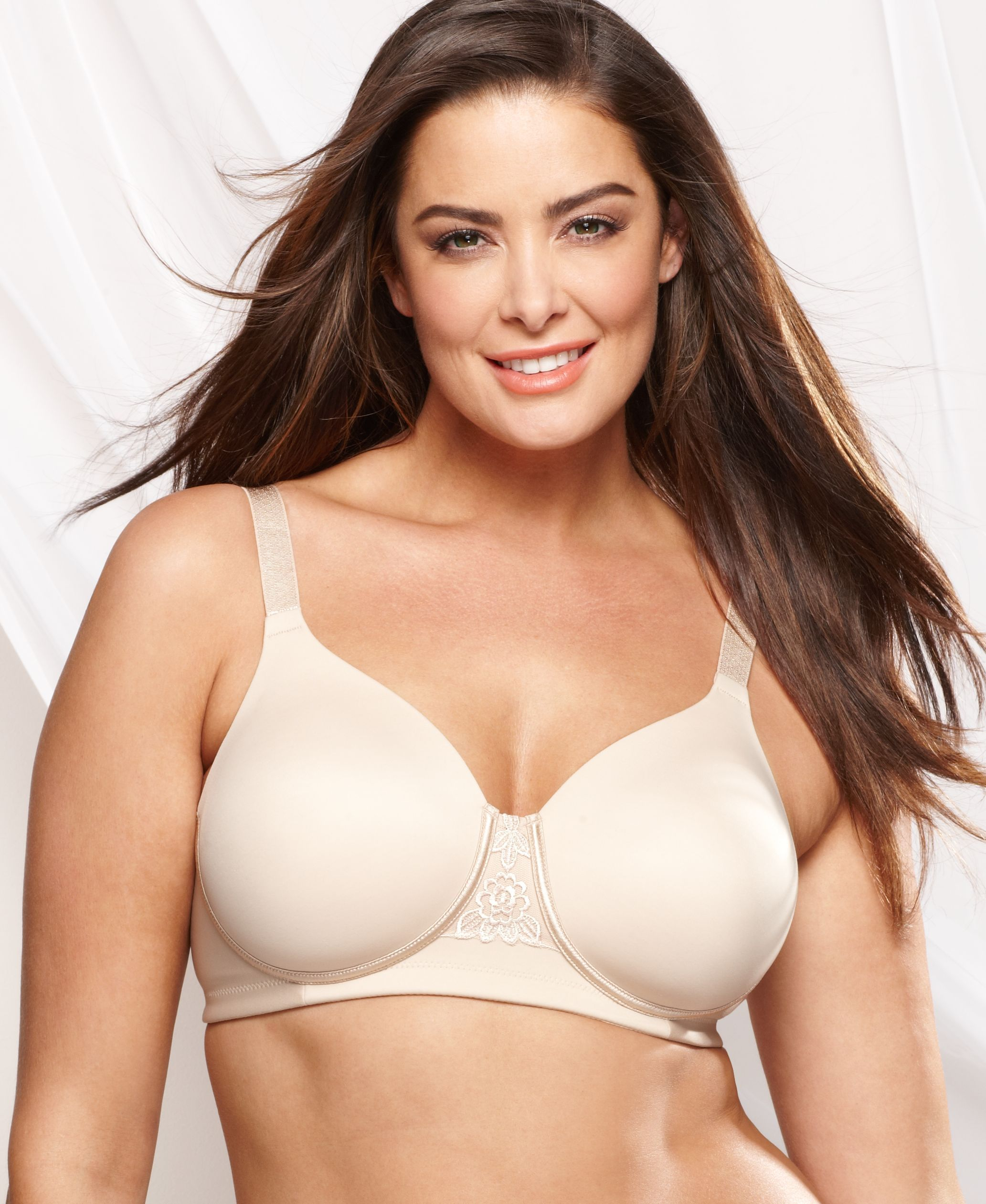 d5ac70f37d ... the Best Minimizer Bras. Vanity Fair Full Figure Back Smoother Wireless  Bra 71380