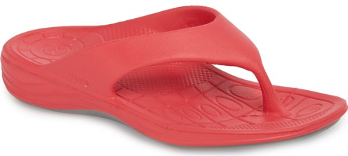 Aetrex Lynco Flip Flop In Pink Get Ready For Warmer Weather With The Ultimate Flip-Flop De -6970