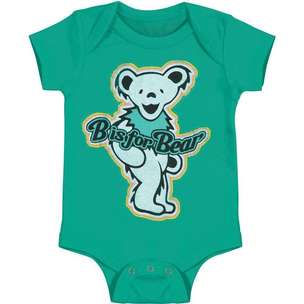 8111f52e1 Grateful Dead B Is For Bear Onesie 12 - 18 Months