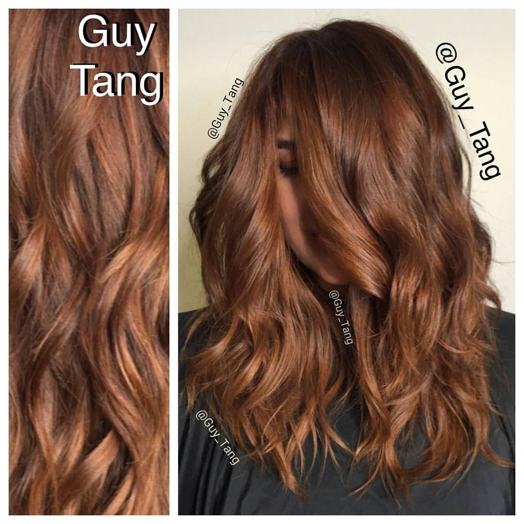 Guy Tang On Instagram Hairbesties We Love Copper Gold Tones Hope You Guys Enjoy The Hair Painting Balayag Copper Brown Hair Hair Painting Copper Hair Color