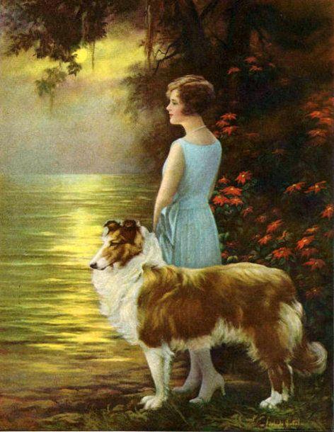 """""""True Friendship"""" by Adelaide Hiebel (1886-1968)"""