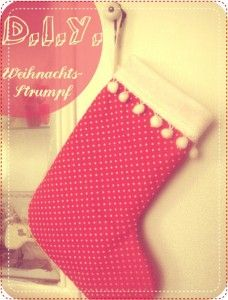 Weihnachtsstrumpf // D.I.Y. - nähmarie