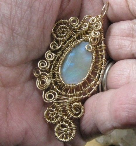 Wire wrap rough stone google search wire wrapping pinterest wire wrap rough stone google search aloadofball Gallery