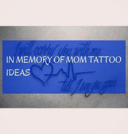 Photo of en mémoire des idées de tatouage de maman! en mémoire des idées de tatouage de maman! #mémoire #ta …