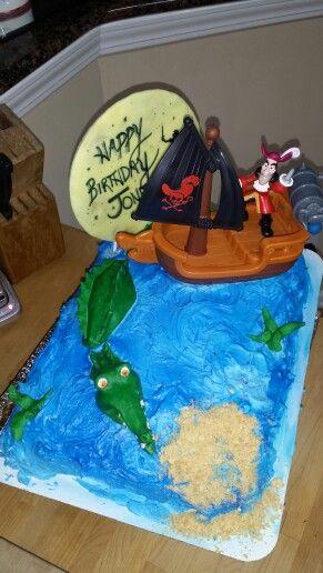 Peter Pan Captain Hook Birthday Cake Cake Captain Hook
