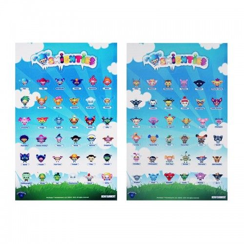 Herotopia 2-Sheet Sticker Set