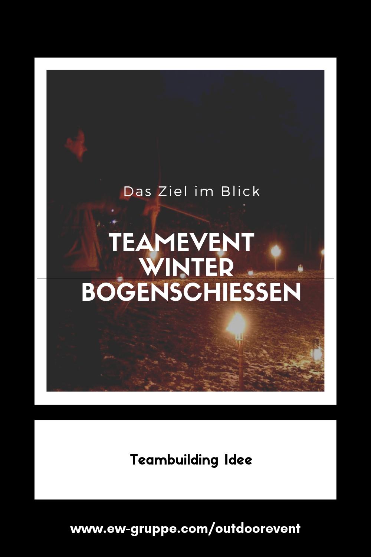 Idee Weihnachtsfeier Firma.Teambuilding Idee Für Den Winter Bogenschießen Mit Der Firma