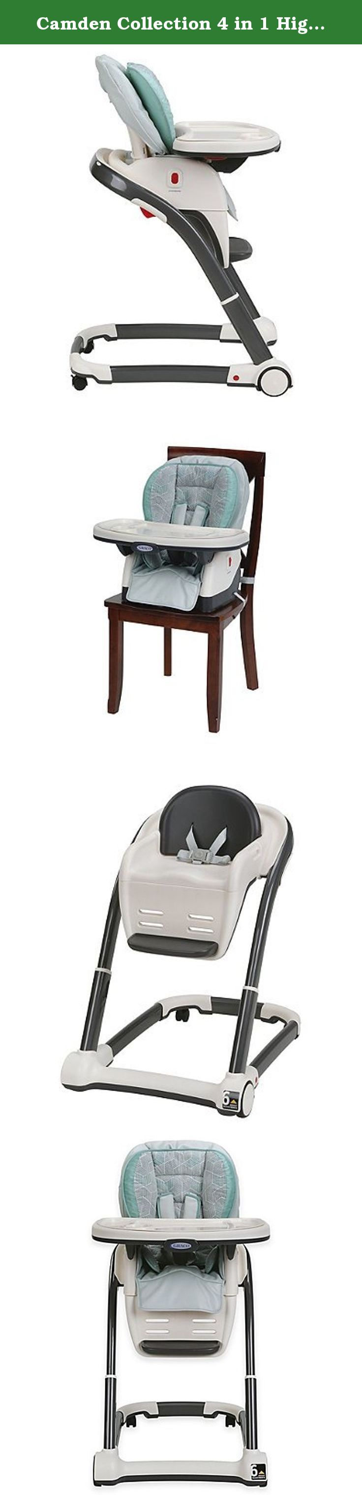 Camden Collection 4 In 1 High Chair The Graco Blossom Dlx 4 In 1