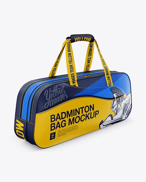 Download Badminton Bag Mockup Half Side View In Apparel Mockups On Yellow Images Object Mockups Badminton Bag Bag Mockup Design Mockup Free