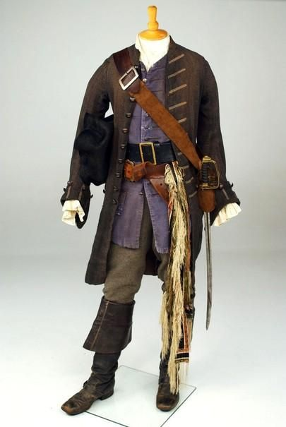 457eb41d Costume worn by Johnny Depp as Captain Jack Sparrow in
