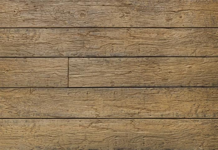 Vintage millboard composite decking has a weathered surface