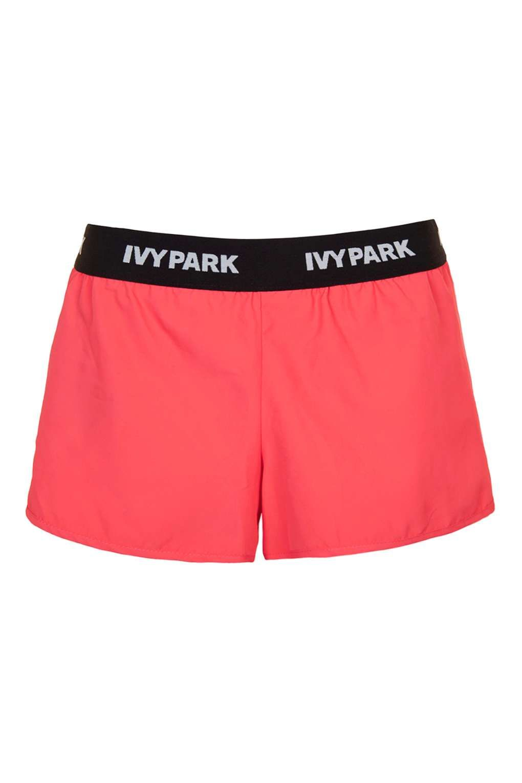 Logo Waistband Runner Shorts by Ivy Park