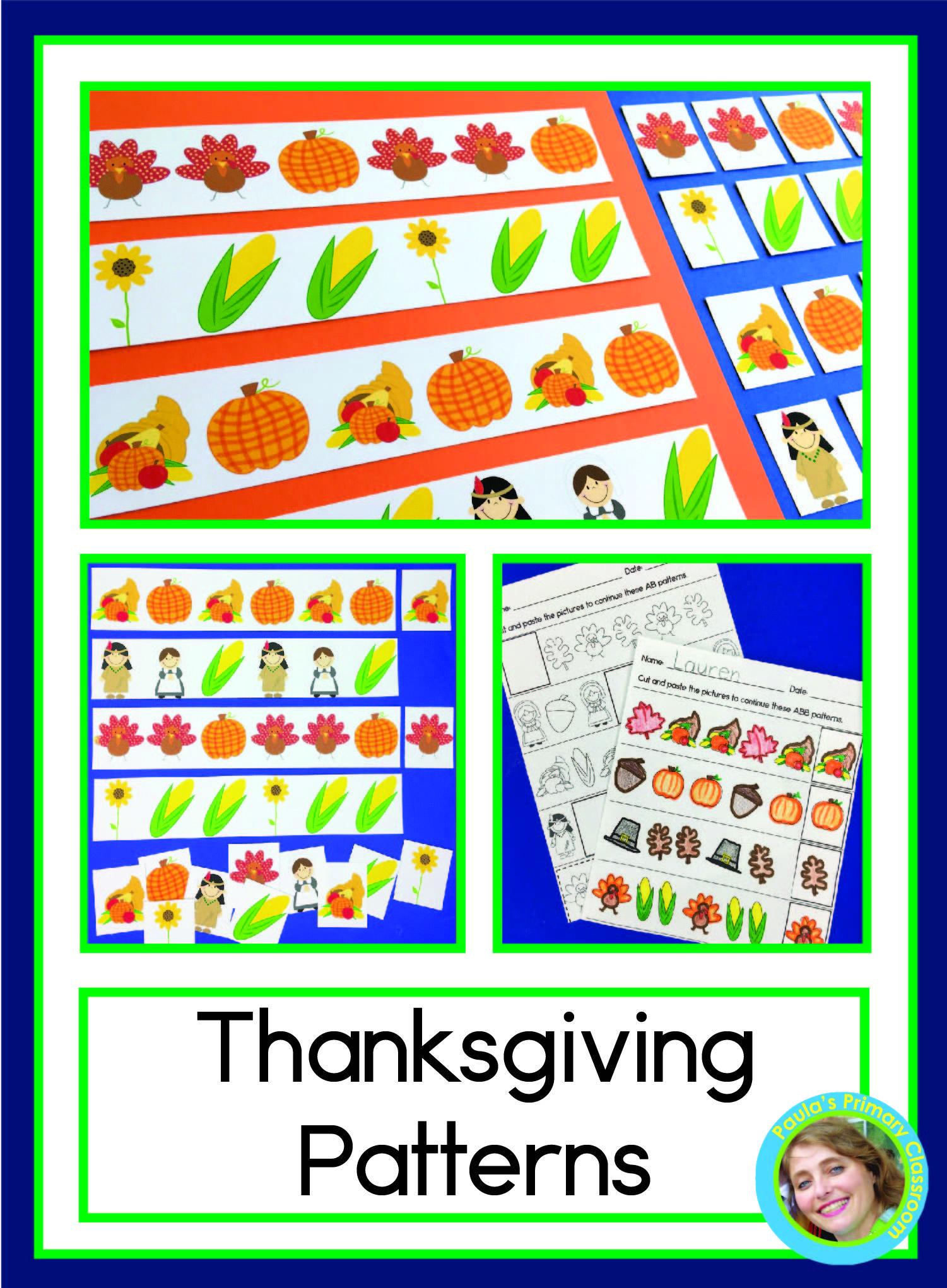 Thanksgiving Patterns With Pilgrims