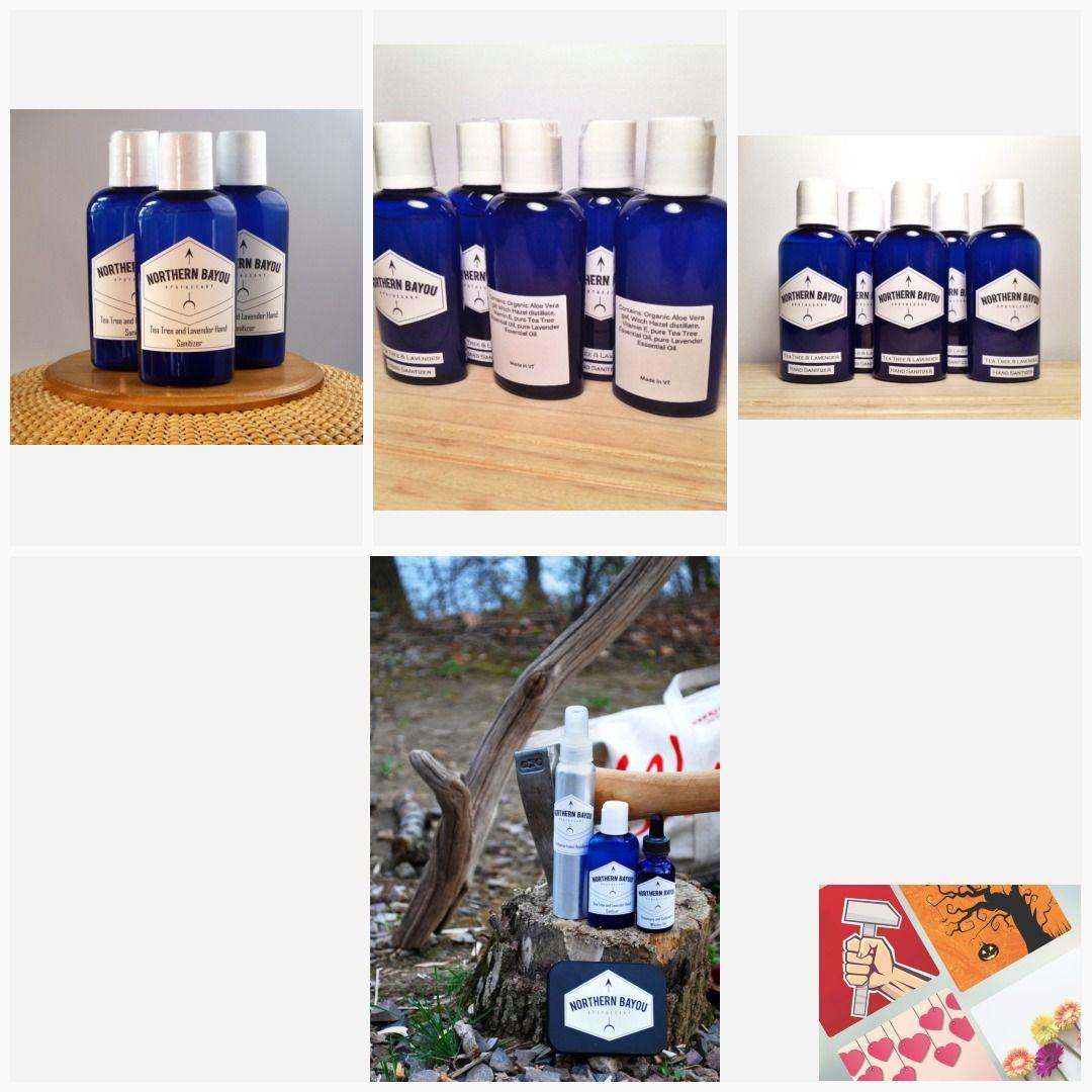 Tea Tree Lavender Hand Sanitizer Handsanitizer Organic