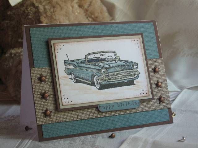 Classic car birthday by sf9erfan cards and paper crafts at card car classic cars birthday for men masucline card splitcoaststampers bookmarktalkfo Image collections