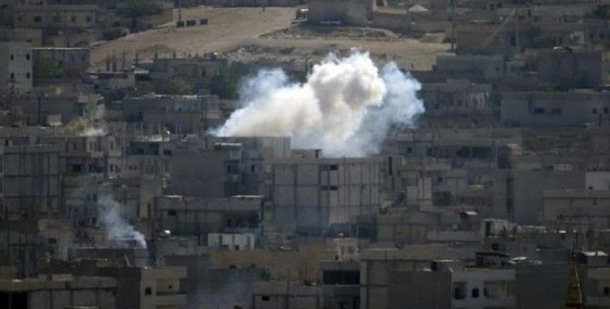 Kurdish fighters have been emboldened by the latest coalition air strikes on Kobane
