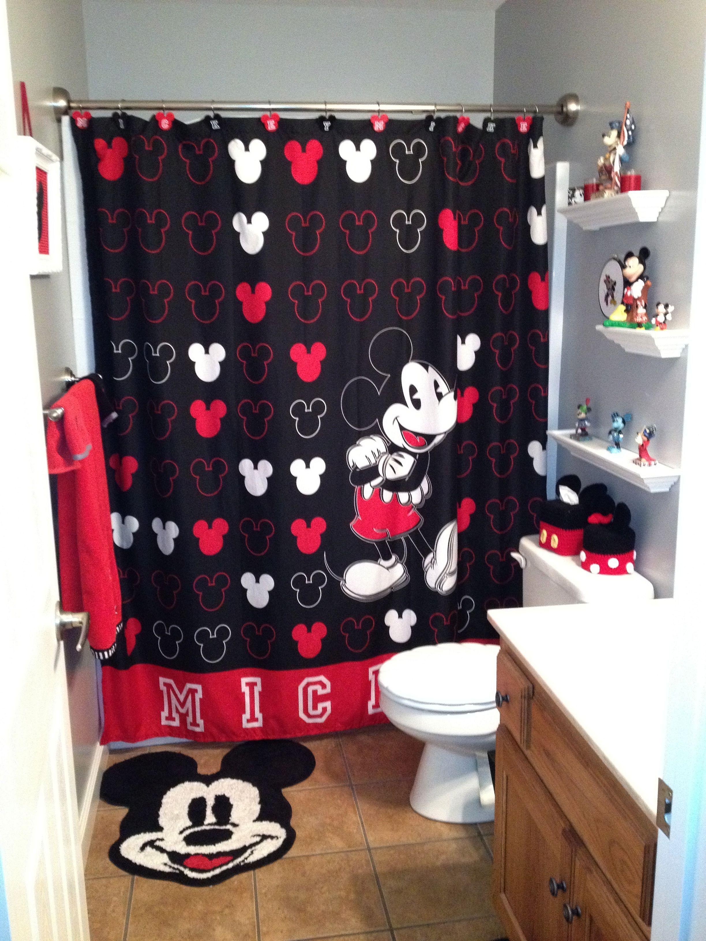 35 Best Mickey Mouse Bathroom Collection Ideas For Your Kids Bathroom Freshouz Com Mickey Mouse Bathroom Minnie Mouse Bathroom Minnie Mouse Bathroom Decor