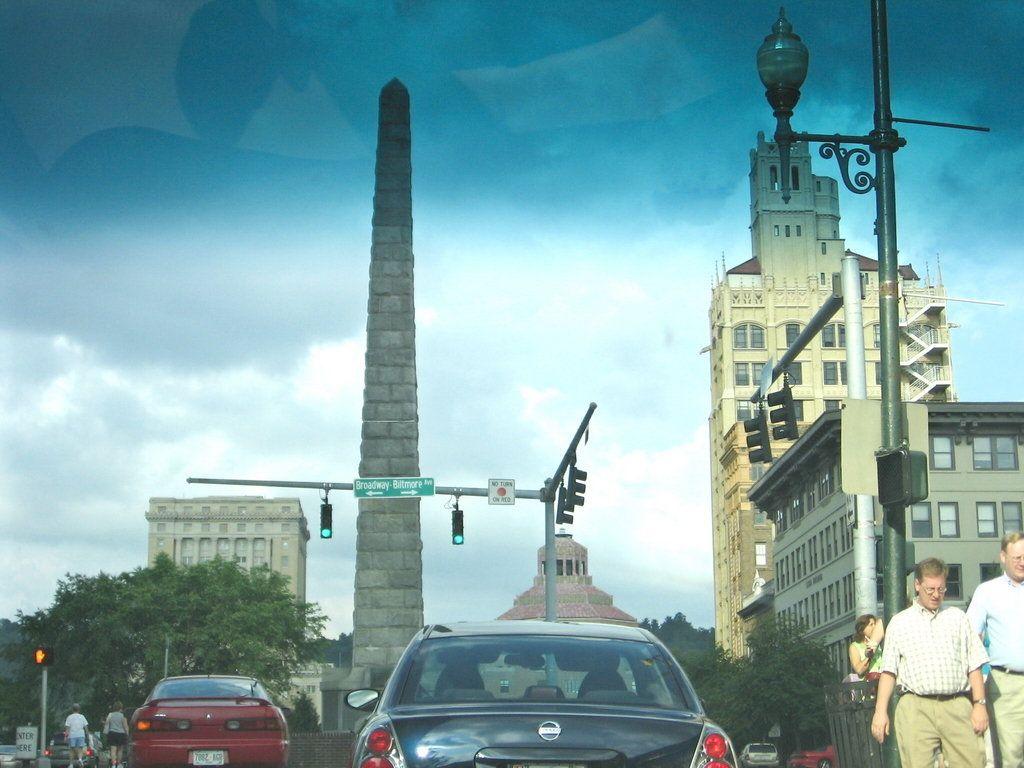 Asheville, NC : Downtown....Vance Monument | \