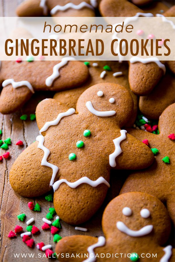 This is the best recipe for gingerbread men! Easy to mix together, taste unbelie…