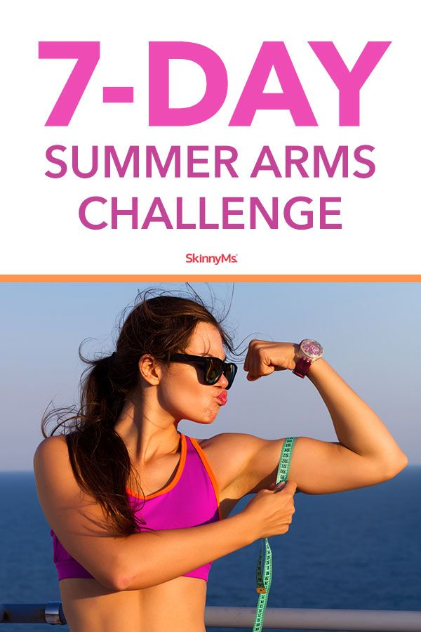 Summer Arms Challenge - Seven Day Arm Workout Routine for