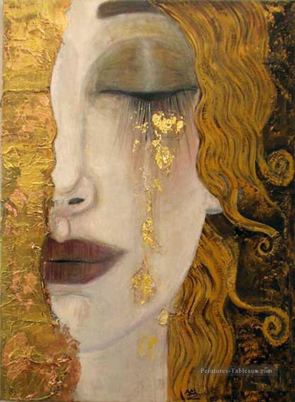 Teas in Klimt Style Gustav Klimt Peintures