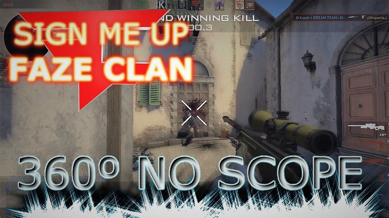 CRAZY 360º AWP NO SCOPE #games #globaloffensive #CSGO #counterstrike #hltv #CS #steam #Valve #djswat #CS16