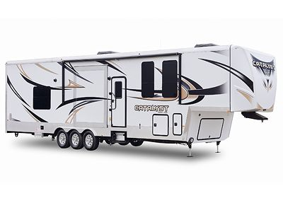 Work And Play Catalyst Toy Haulers By Forest River Rv