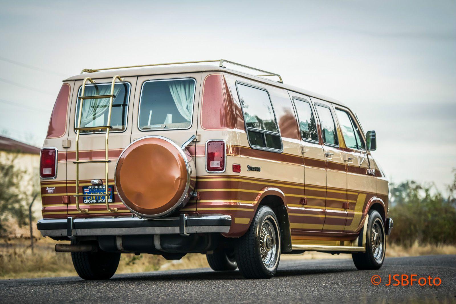 84 Dodge Prospector B250 Conversion Van
