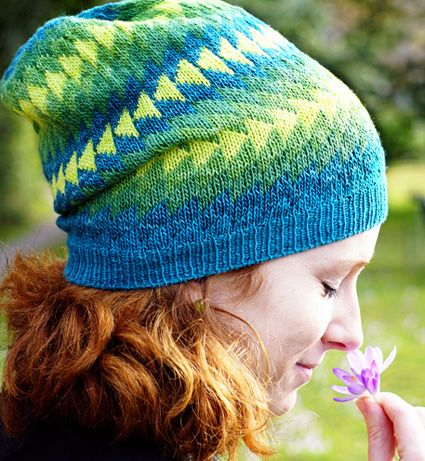 Free Knitting Pattern for Dingle Hat - Inspired by a colorful ...