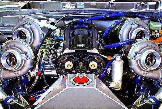 Quad Turbo Turbo Car Tuner Cars Engineering