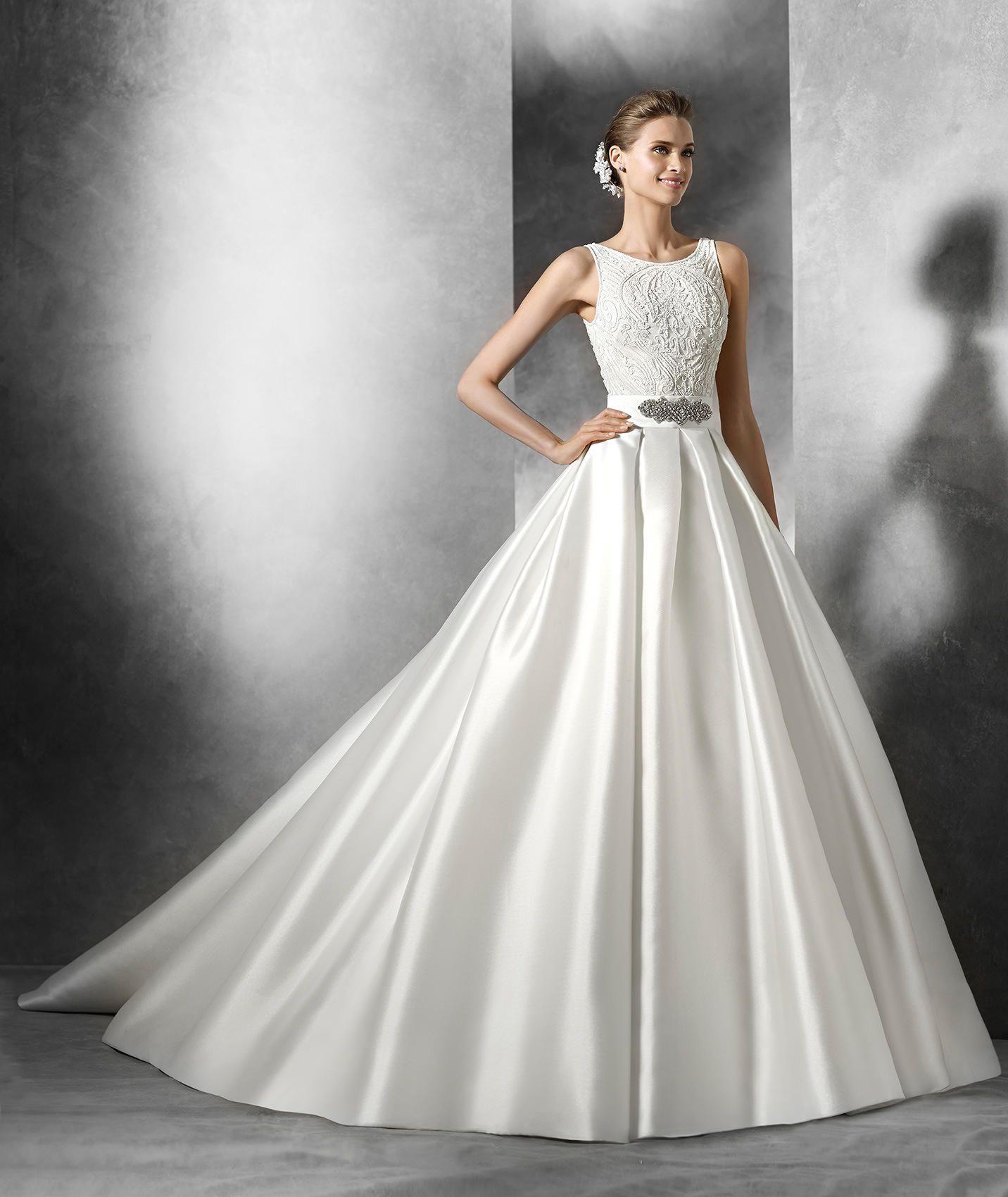 TRESIA - Modernes Brautkleid im Prinzessin-Stil | Hochzeitskleider ...