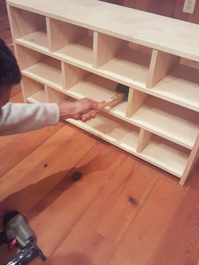How To Build A Shoe Cubby Shoe Cubby Entryway Shoe Storage Diy Shoe Rack