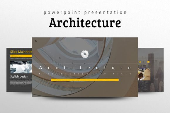 Architecture PPT Template Ppt template, Presentation design and