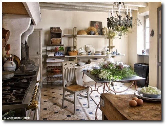 Part 2 French Kitchen Decor My French Country Home Provence Style Interior